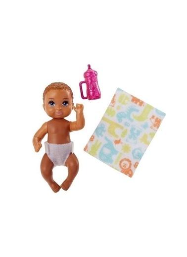 Barbie Barbie Fhy76 Renkli Kız Çocuk Barbie Bebek Bakıcısı Minik Bebekler Renkli